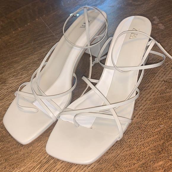 Zara Strappy Block Heel Sandal